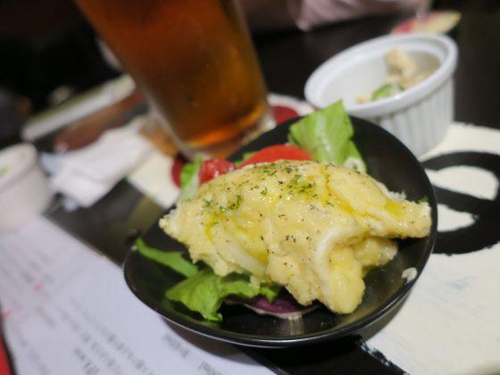 TAP ROOMのポテトサラダ(420円)