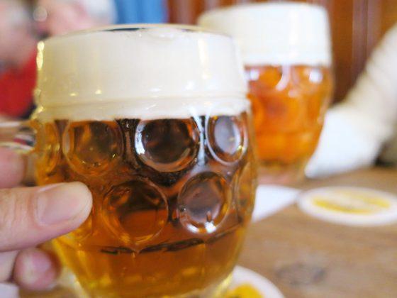 ピルスナーウルケルで乾杯!