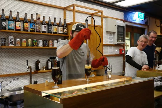 ビールの実験室?