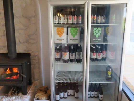 冷蔵庫にはペットボトルビール