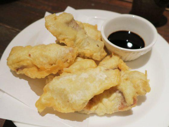 近海魚の天ぷら(600円)