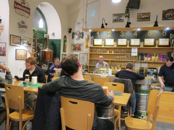 Pivovarsky klub 店内