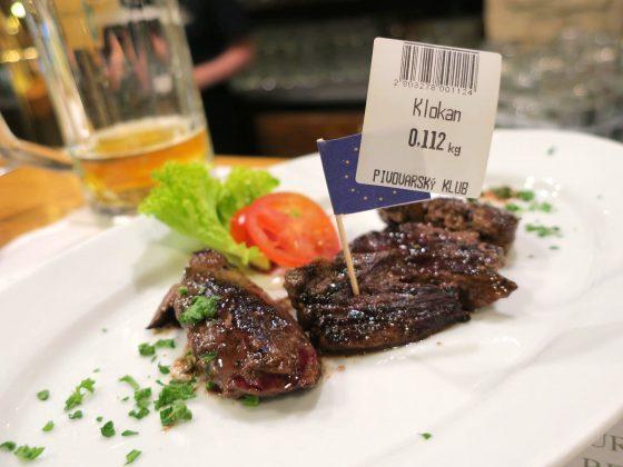 カンガルーのステーキ