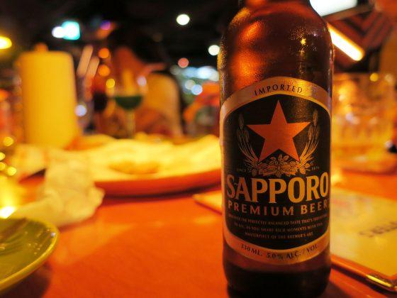 サッポロビール!