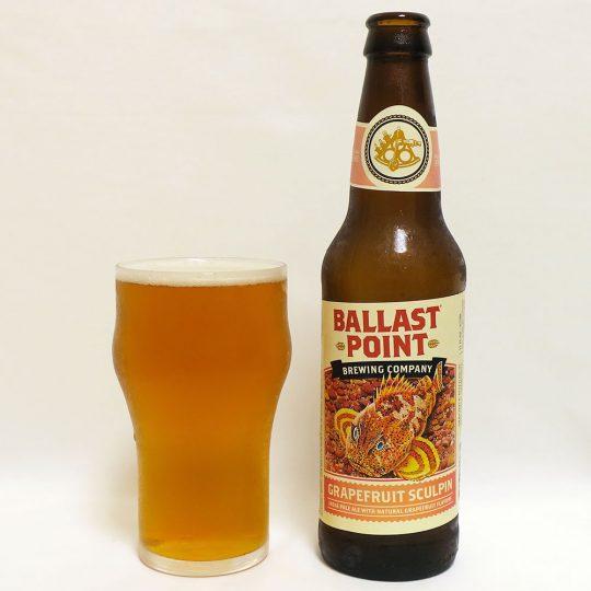 アメリカ BALLAST POINT Brewing グレープフルーツ スカルピン
