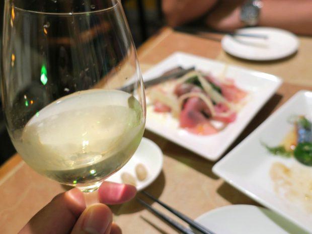 白ワインでも美味しい!