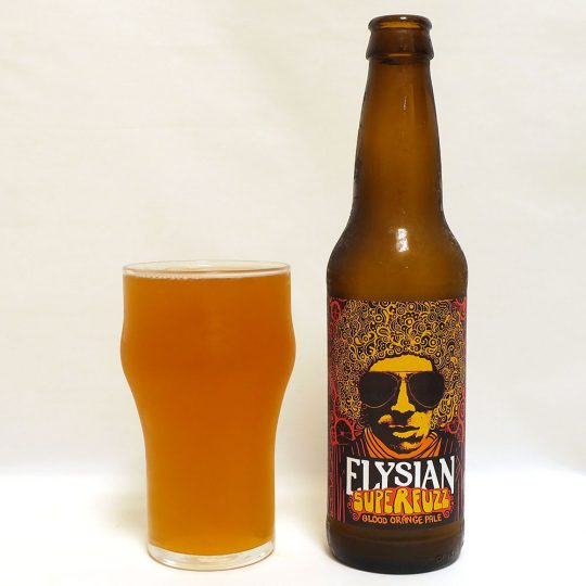 アメリカ Elysian Brewing SUPERFUZZ BLOOD ORANGE PALE