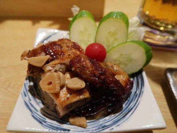 チキン3ピース(600円)