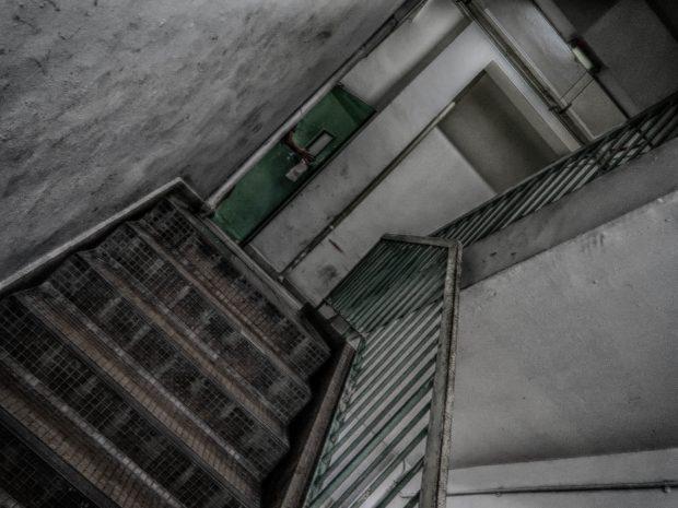 階段をあがると…