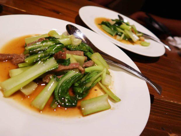 八宝菜の炒めもの二種