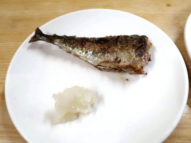 さば塩焼き(200円)