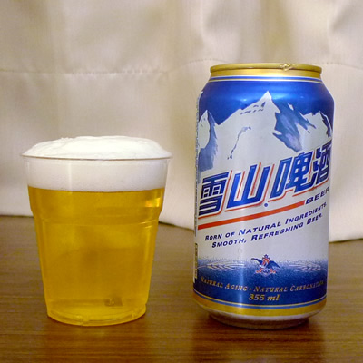 BUSCH 雪山啤酒