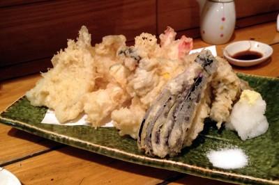 天ぷら盛り合わせ 1,500円