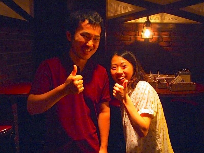 島崎さんとツーショット