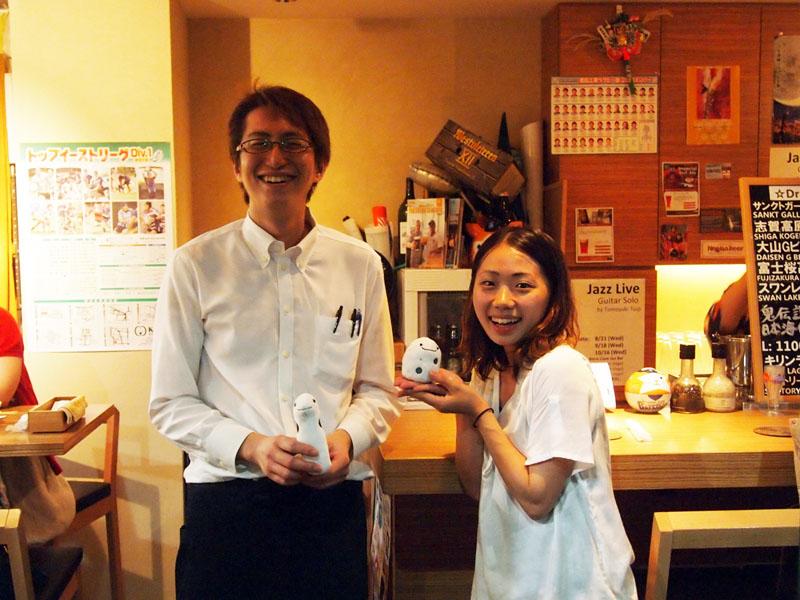 料理人の遠藤さんと