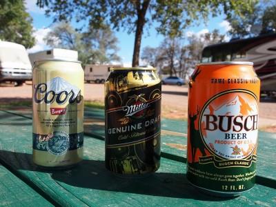 アメリカで飲んでいるビール