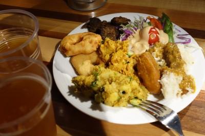 ヒマラヤテーブルのお料理
