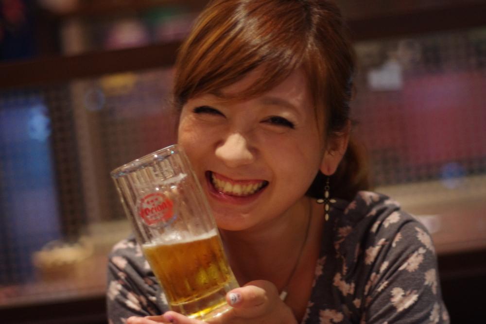 美人×麦酒 あさみさん