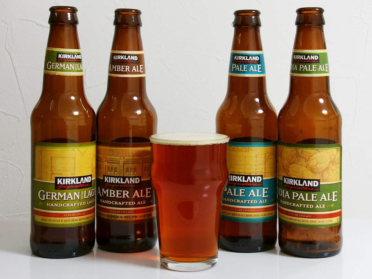 Kirkland Signature Handcrafted Beer