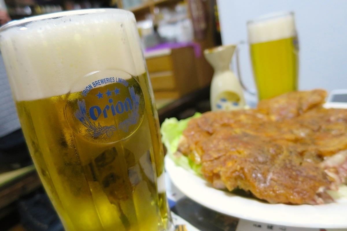 ここはビールで!