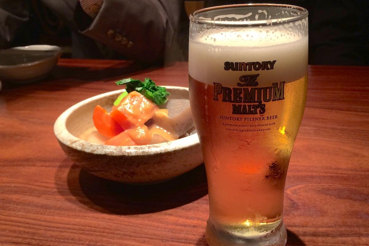 魚金 吉祥寺店 プレミアムモルツ