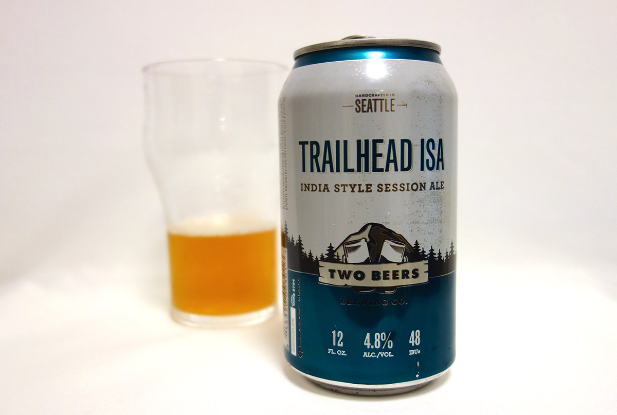 アメリカ TWO BEERS BREWING TRAILHEAD ISA