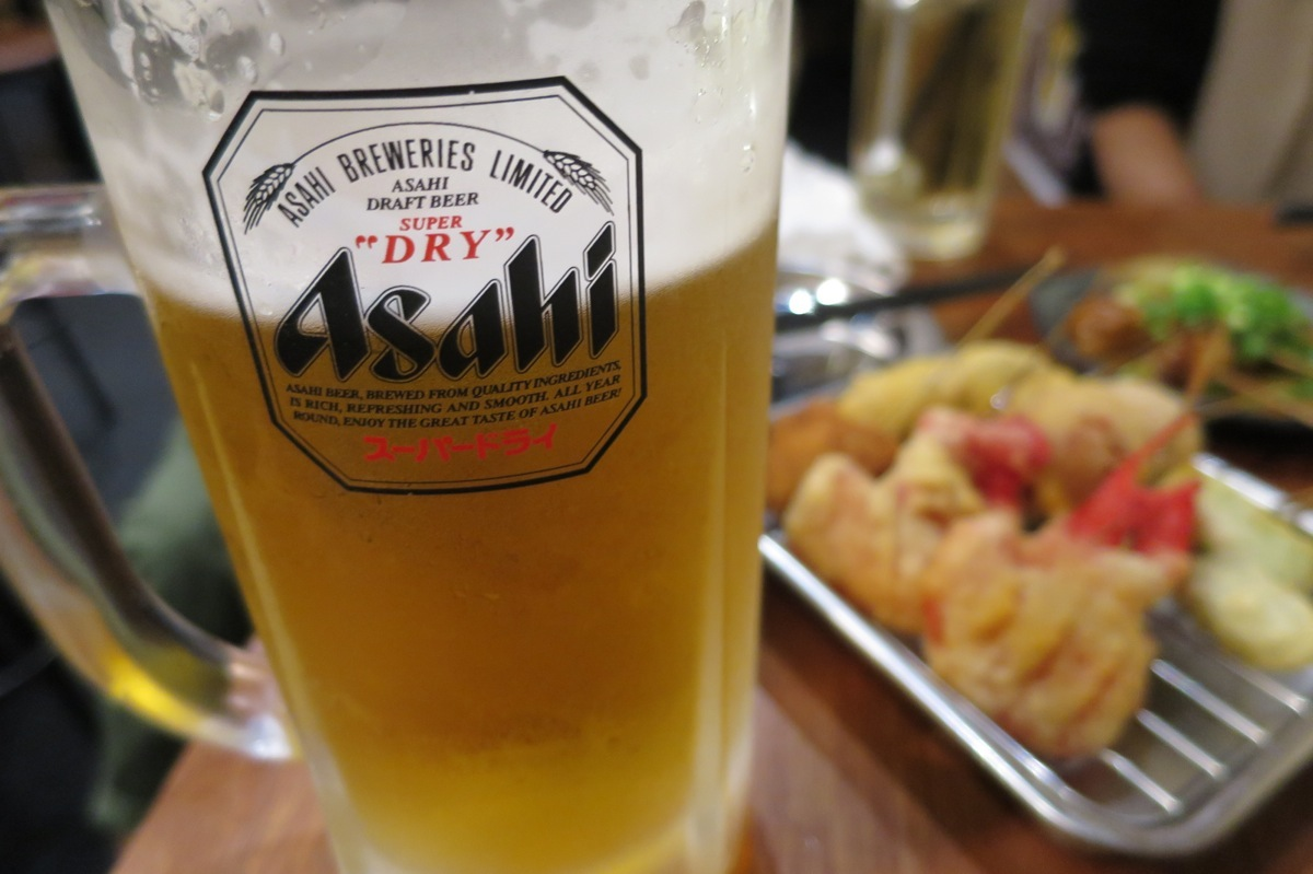 串かつ&ビール