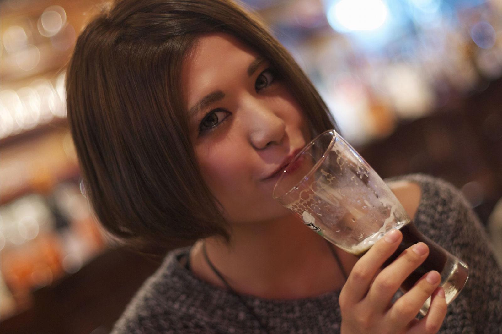 美人×麦酒 美穂さん