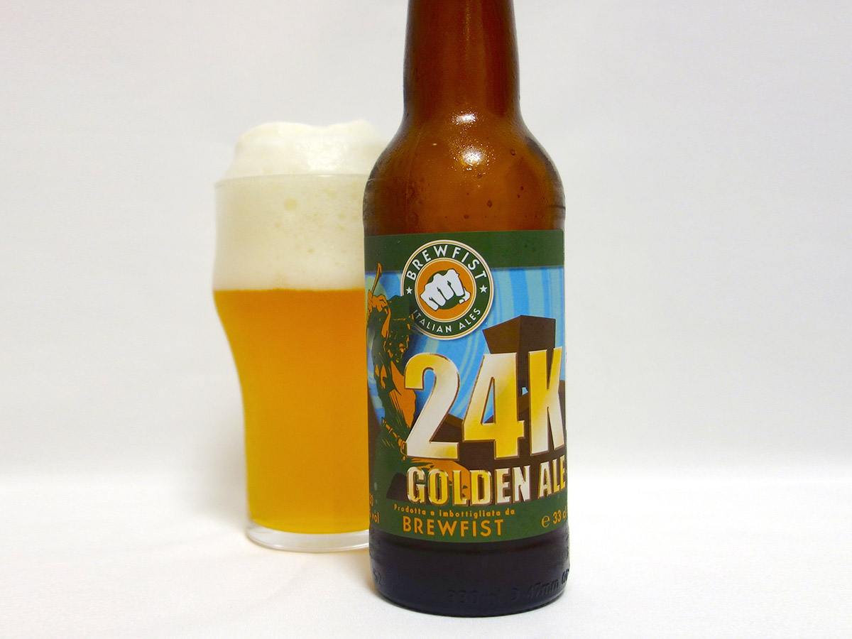 イタリア BREWFIST 24K Golden Ale