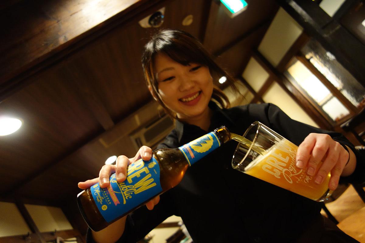 ビール9杯目!