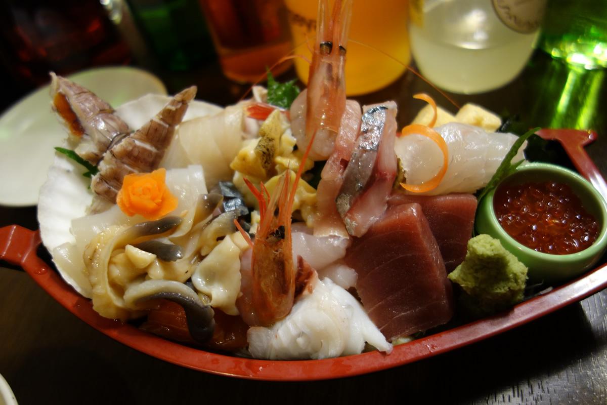 大漁盛り(1,500円)
