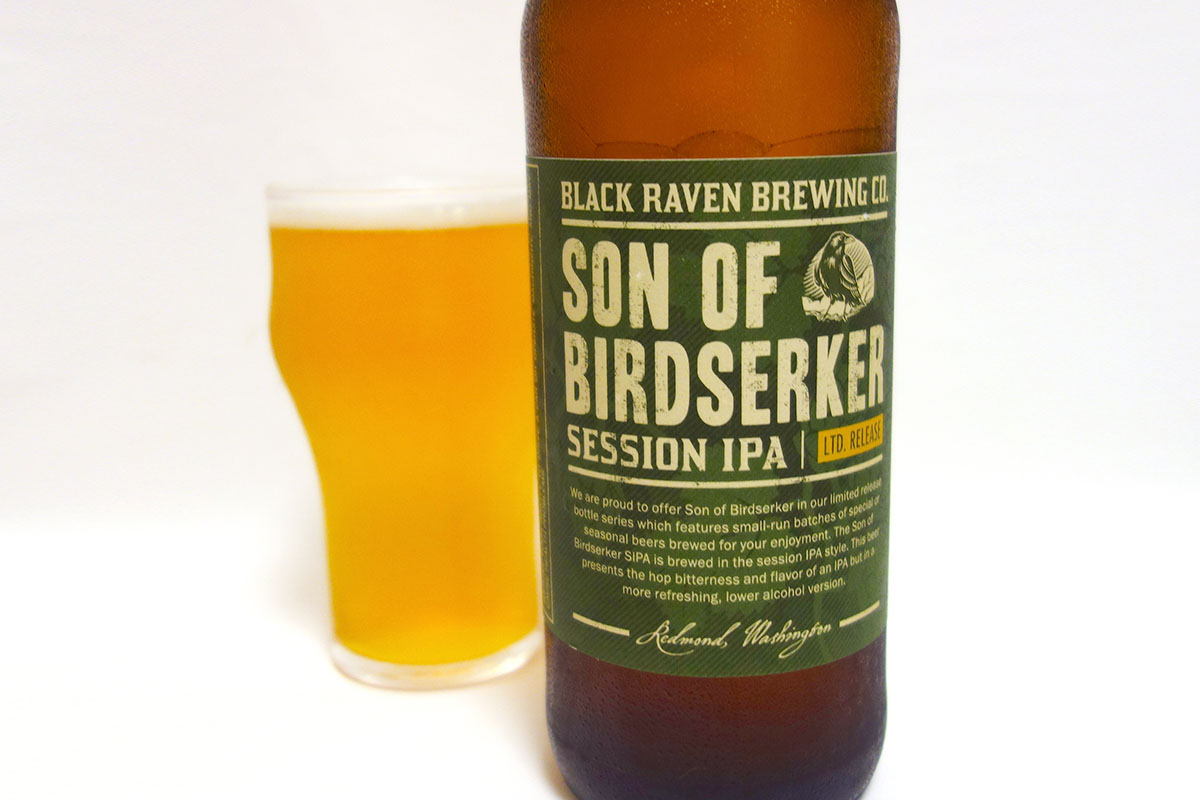 BLACK RAVEN BREWING SON OF BIRDSERKER SIPA