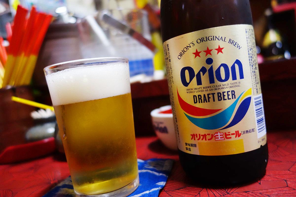 リニューアルしたオリオンビール