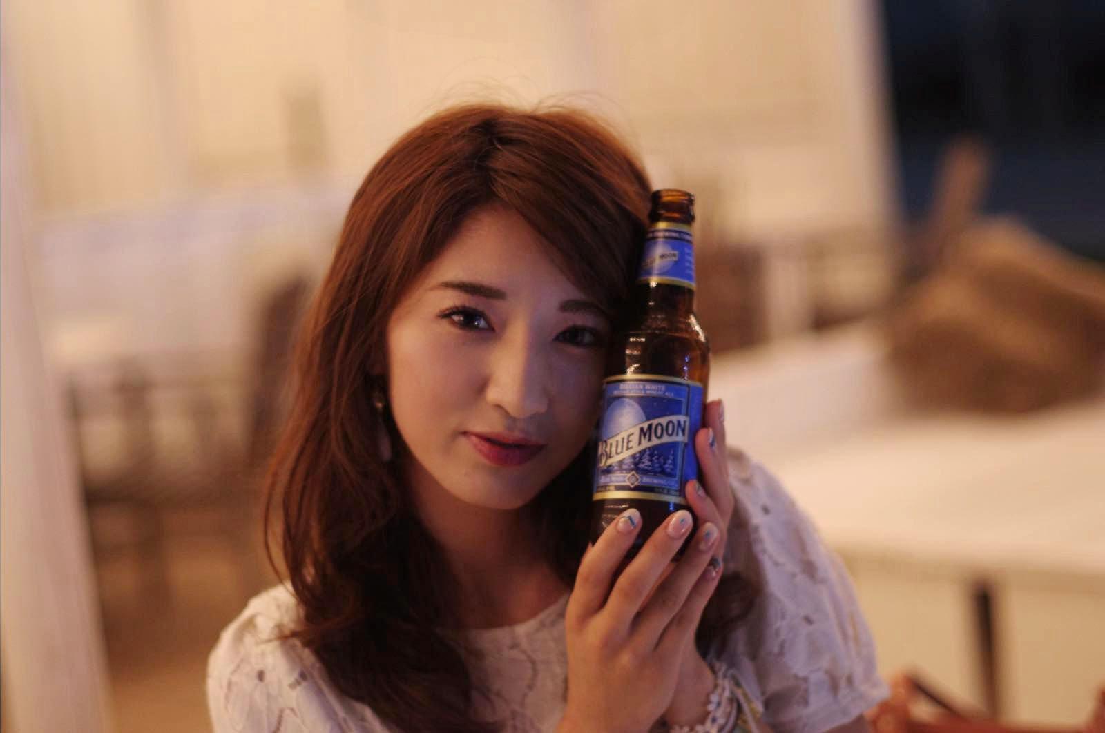 美人×麦酒 みずほさん