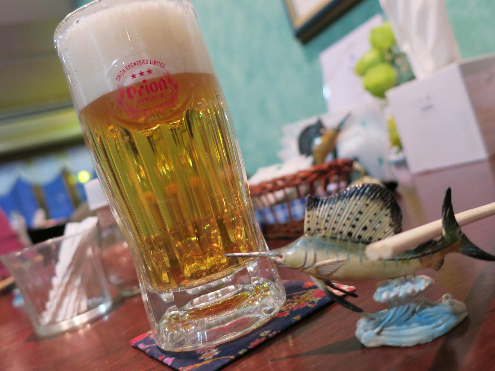 ビールはオリオン!