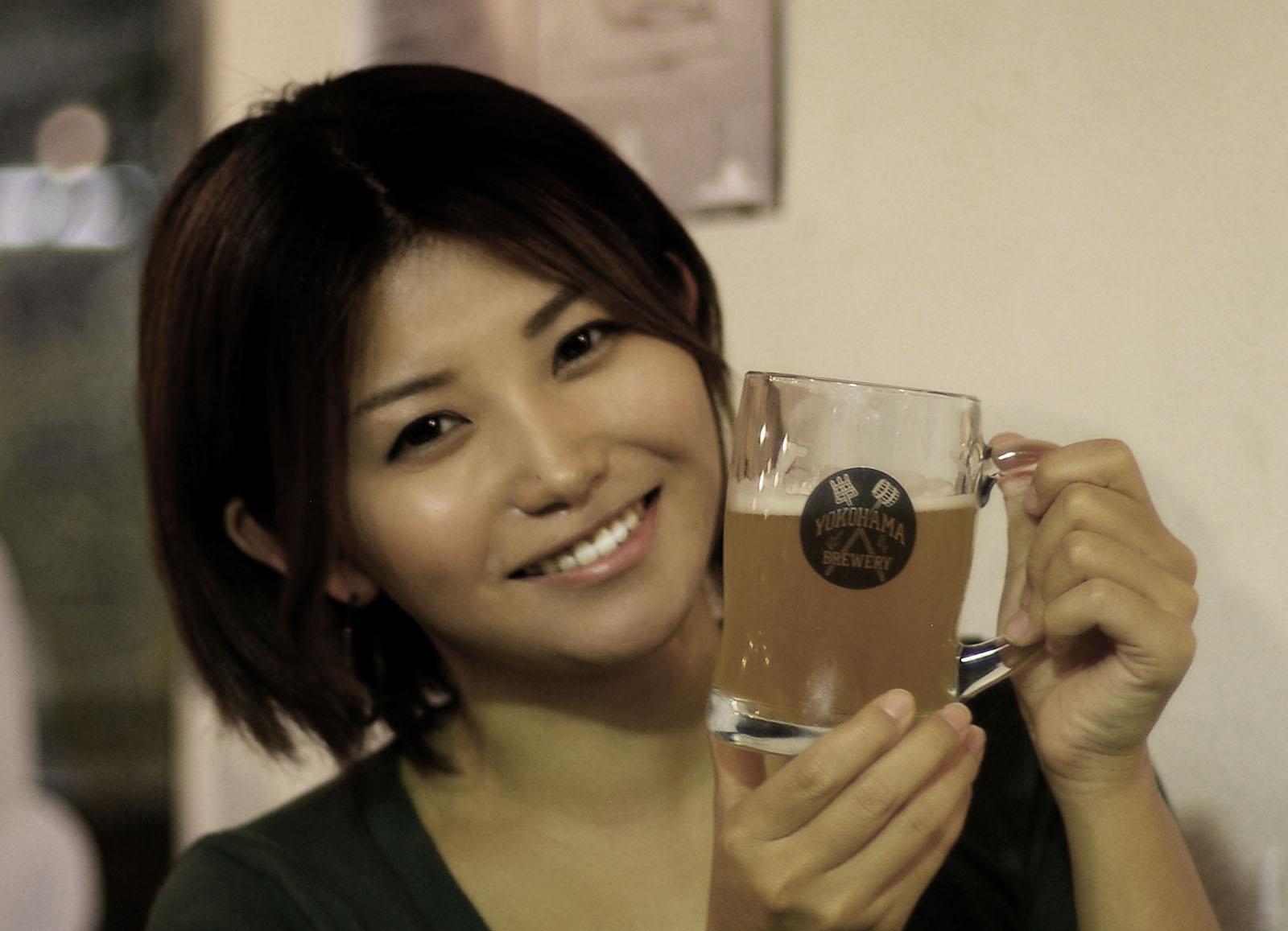 横浜ビールで乾杯!
