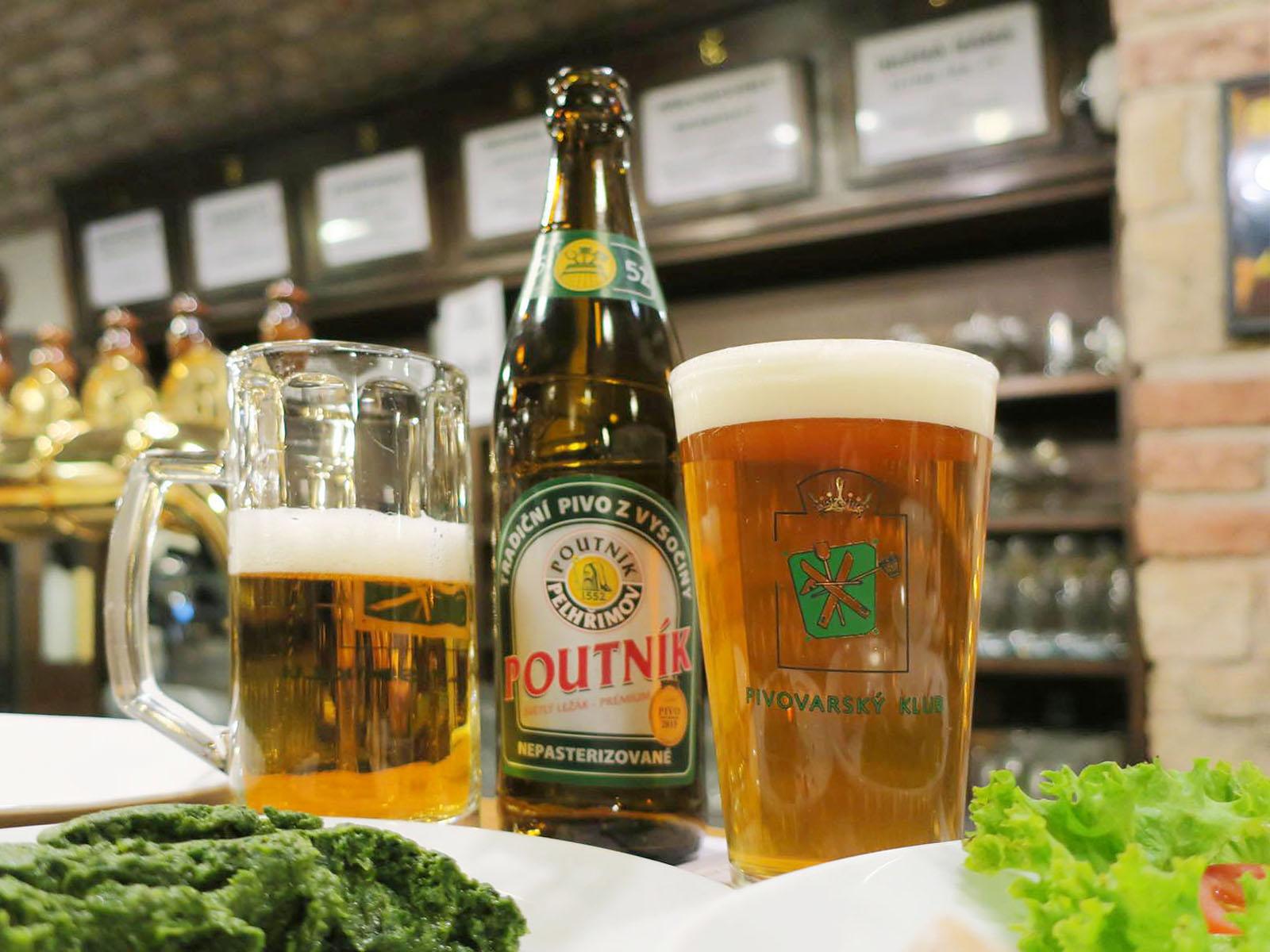 プラハ Pivovarsky klub ビールクラブ