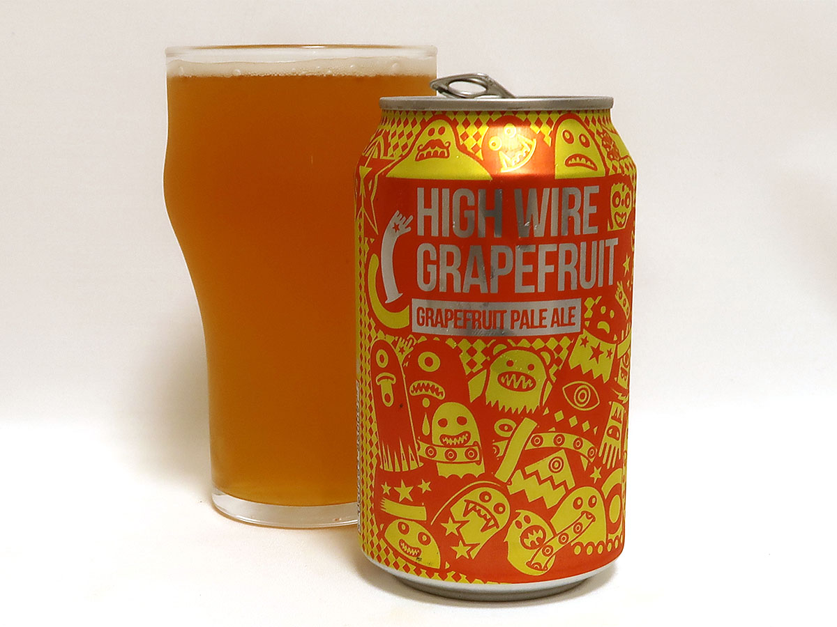 イギリス Magic Rock Brewing HIGH WIRE GRAPEFRUIT