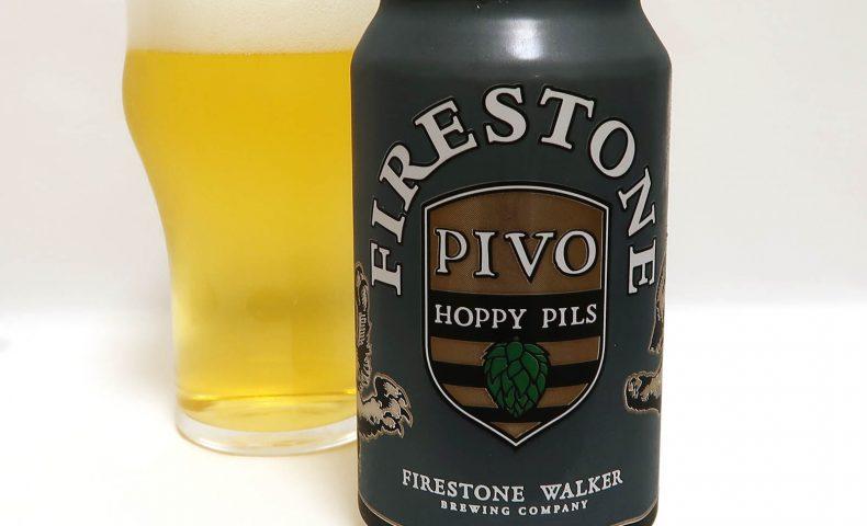 Firestone Walker Brewing PIVO: HOPPY PILSNER