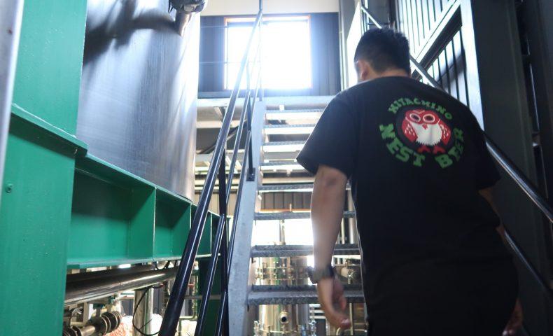 常陸野ネストビールの工場・額田醸造所
