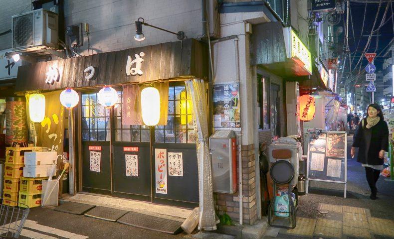 新橋の老舗居酒屋「酒蔵 かっぱ」