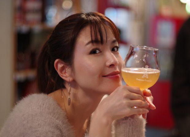 美人×麦酒 えりさん