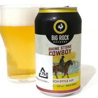 BiG ROCK BREWERY RHiNE STONE COWBOY
