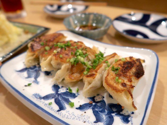 手作り餃子(350円)