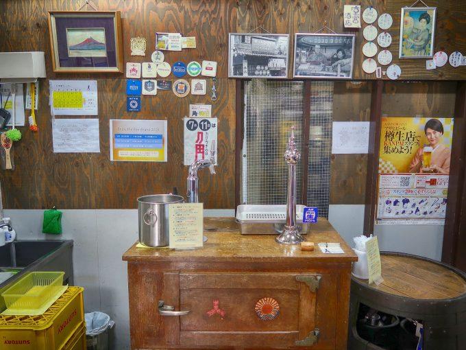 昭和と平成のビールサーバー