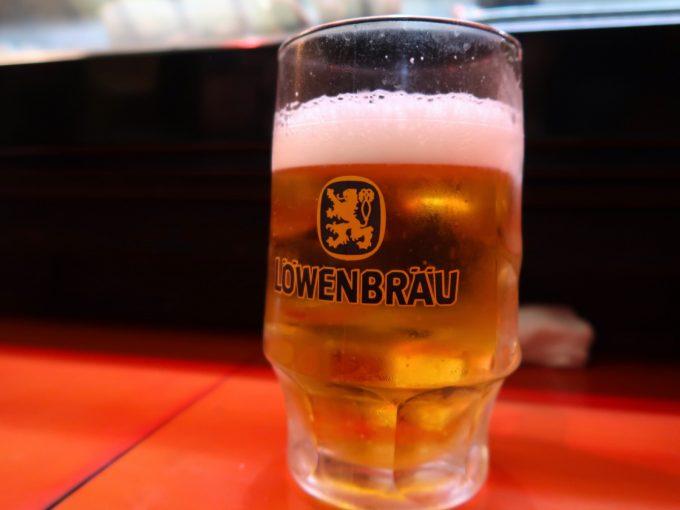 ビールはレーベンブロイ?