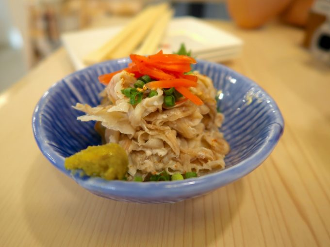 酢もつ(580円)