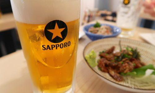 福岡空港で立ち飲み しらすくじら