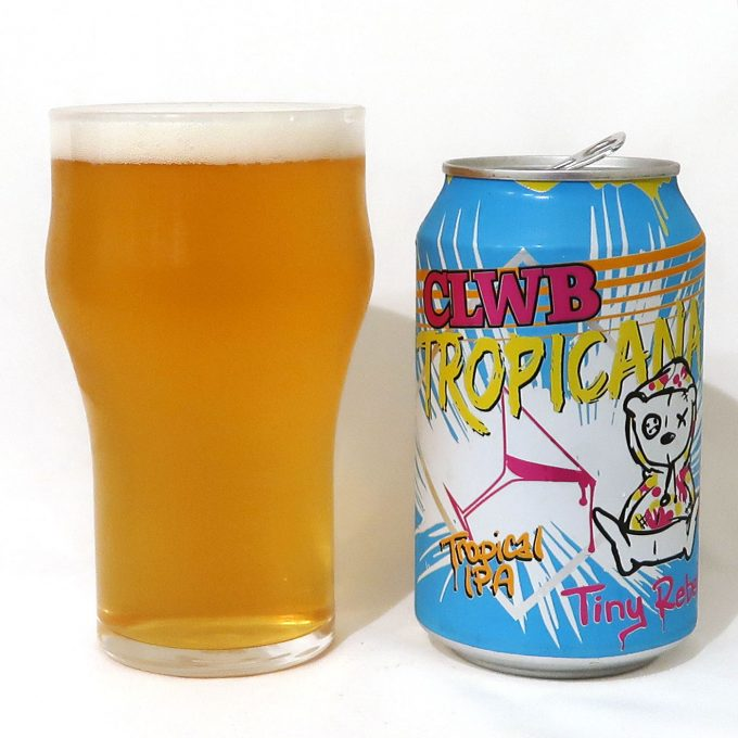 イギリス Tiny Rebel Brewing CLWB TROPICANA TROPICAL IPA