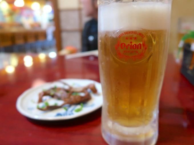 宜野湾 一番餃子 オリオンビール